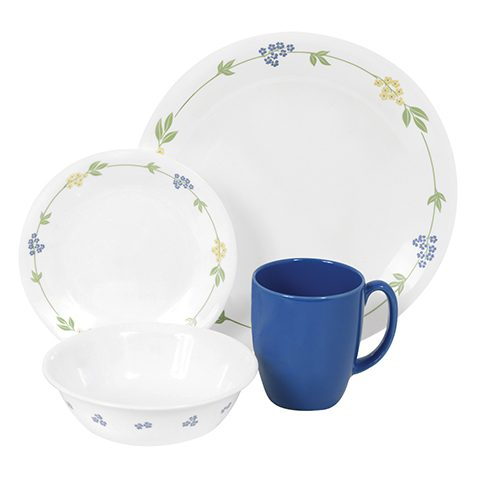 Secret Garden 16 Piece Dinner Set