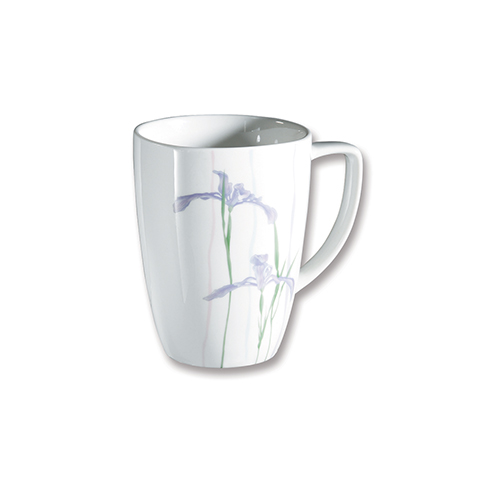 Shadow Iris Porcelain Mug
