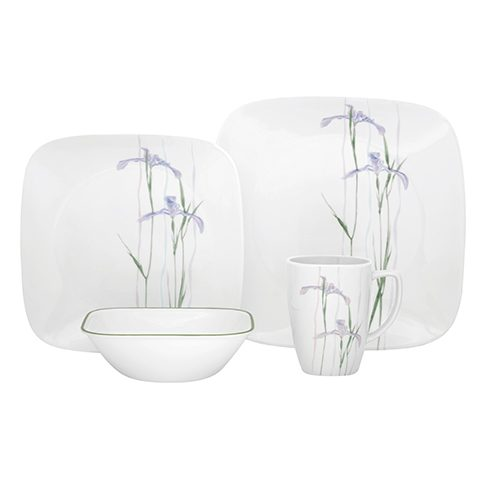 Shadow Iris 16 Piece Dinner Set