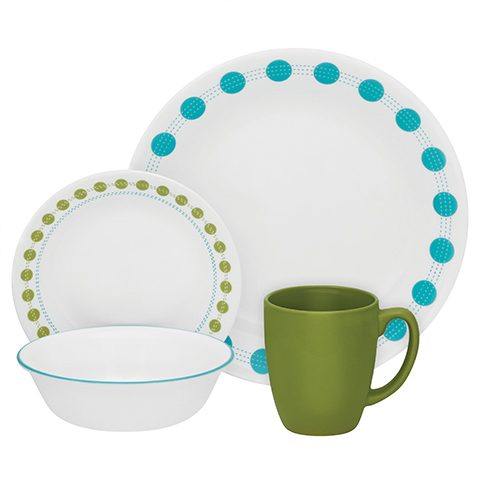 South Beach 16 Piece Dinner Set