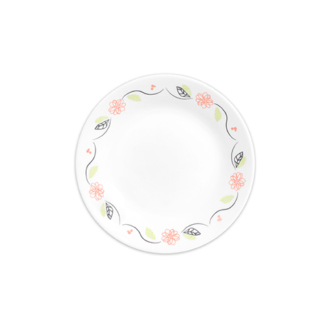 Tangerine Garden Bread and Butter Plate