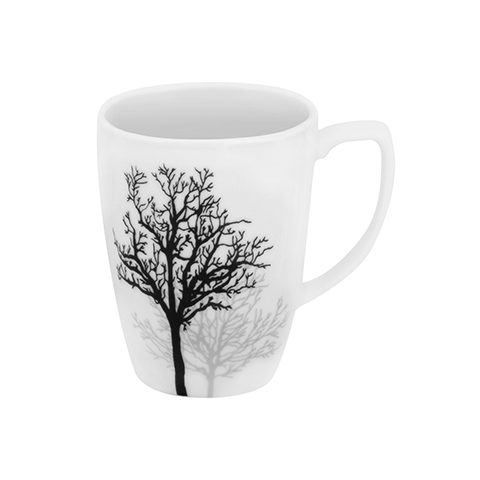 Timber Shadows Porcelain Mug