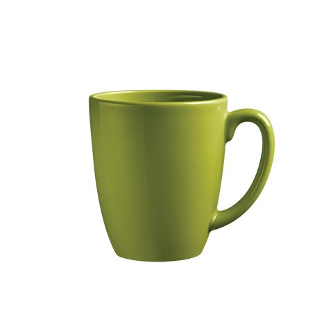 Stoneware Mug - Yellow Green