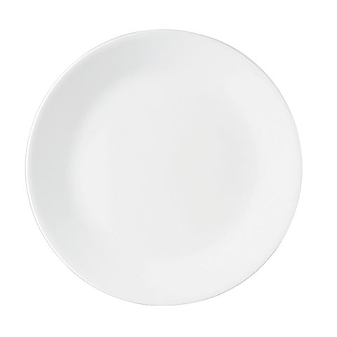 Winter Frost White Luncheon Plate