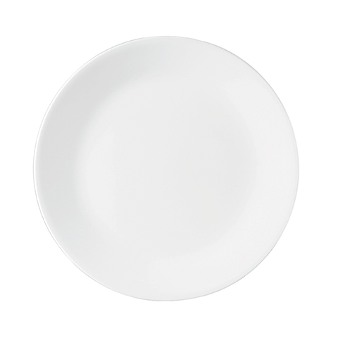 Winter Frost White Dinner Plate