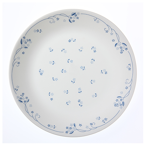 Provincial Blue Dinner Plate