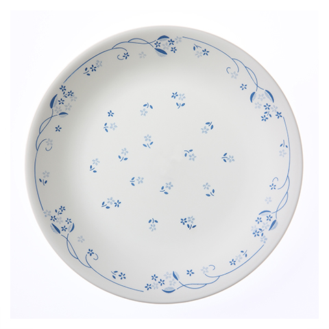 Provincial Blue Luncheon Plate