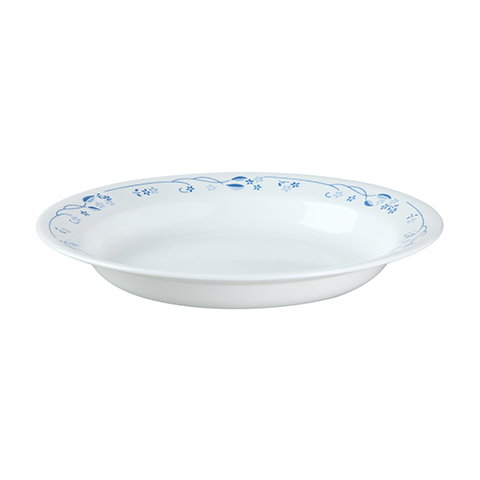 Provincial Blue Rim Soup Bowl
