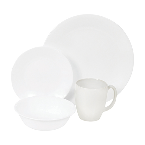 Winter Frost White 16 piece Dinner Set