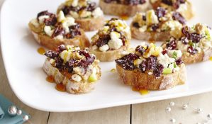 Cranberry-Feta Bruschetta