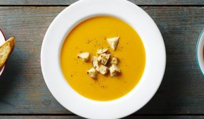 Spiced-Up Butternut Squash Soup
