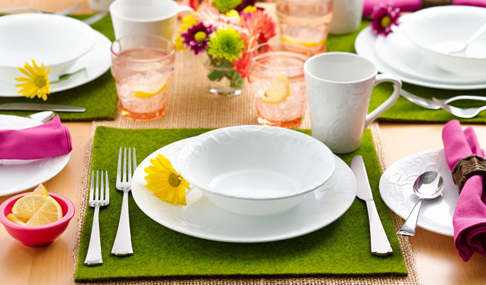 Table Trends for a Celebration of Spring