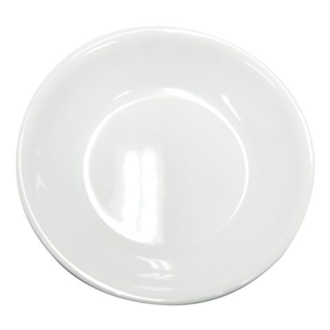 Winter Frost White Dipping Plate