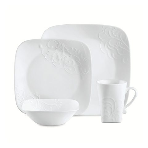 Cherish Square 16 Piece Dinner Set