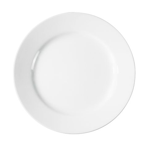 Dazzling White Luncheon Plate