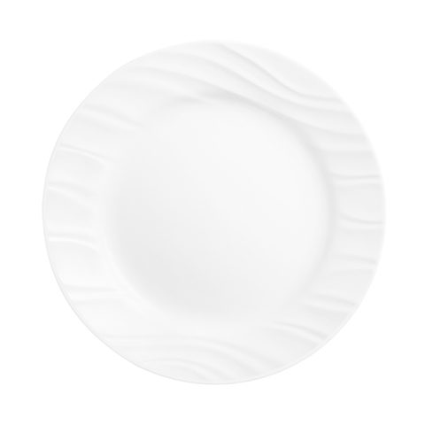 Swept Luncheon Plate