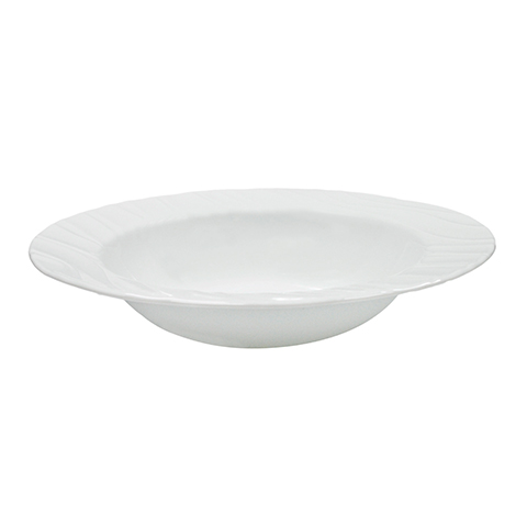 Swept Wide Rim Entrée Bowl